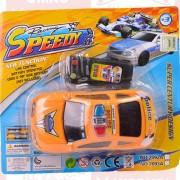 Juguete Auto Policia Con Control Remoto Con Cable Speedy