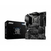 MB, MSI Z490-A PRO /Intel Z490/ DDR4/ LGA1200 (911-7C75-003)