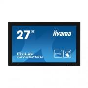 iiyama ProLite T2735MSC érintőképernyős monitor, 27'', kék fénycsökkentés, fekete