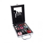 2K Complete Beauty Train Case 27G Complete Makeup Palette A Set Of Decorative Cosmetics Per Donna(Cosmetic)