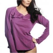 Calvin Klein Pyjamas Top Lara Sexy Purple * Fri Frakt * * Kampanj *