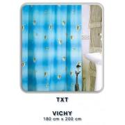 Zasłonka łazienkowa TXT 180x200 Vichy