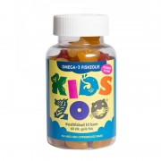Kids Zoo Omega-3 Fisk 60 stk Fish Oil