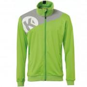 Kempa Polyesterjacke CORE 2.0 - hope grün/dark grau melange | XXL