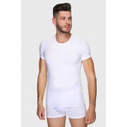 Férfi póló, fehér fehér XL