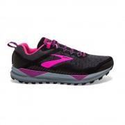Brooks Scarpe Trail Running Cascadia 14 Nero Rosa Donna EUR 39 / US 8