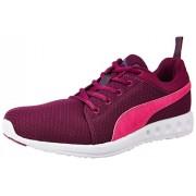 Puma Women's Carson Runner Wn's Dp Magenta Purple, Pink Glow and Periscope Running Shoes - 7 UK/India (40.5 EU)