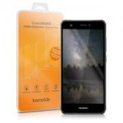 kwmobile Tvrzené ochranné sklo s rámečkem pro Huawei Nova - černá
