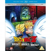 Dragon Ball Z Movie Collection Five: The Broly Trilogy - Dvd/blu-ray C