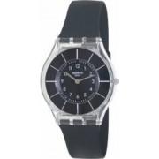 Ceas Swatch dama Skin SFK361 negru Silicone Swiss Quartz