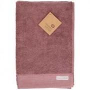 Dille&Kamille Drap de bain, coton bio, gris-rose, 70 x 140 cm