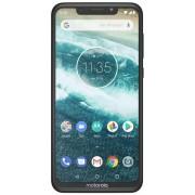 "Telefon Motorola ONE, Procesor Octa-Core 2GHz, IPS LCD Capacitive touchscreen 5.9"", 4GB RAM, 64GB Flash, Camera Duala 13+2MP, Wi-Fi, 4G, Dual Sim, Android (Negru) + Cartela SIM Orange PrePay, 6 euro credit, 6 GB internet 4G, 2,000 minute nationale si inte"