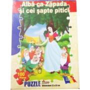 Puzzle Alba ca Zapada si cei sapte pitici 100 piese 134BZ