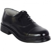 Shoebook Men's Black Leather Oxford Lace Up