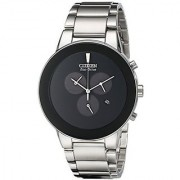 Citizen Quartz Black Dial Mens Watch-AT2240-51E