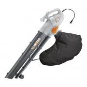 Soffiatore Aspiratore Trituratore 2200 W Aspirazione 12 M³/min