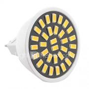GU5.3 (MR16) LED-spotlampen MR16 32 SMD 5733 500-700 lm Warm wit Koel wit 2800-3200/6000-6500 K Decoratief AC 220-240 AC 110-130 V