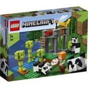 Lego Minecraft Het pandaverblijf - 21158