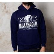 mikina pánská Millencolin - Bear Logo - Navy - BUCKANEER - 049
