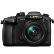 Panasonic Kit Aparat Foto Mirrorless Lumix GH5 cu Obiectiv Lumix 12 60mm f 3.5 5.6 G Vario Power O.I.S
