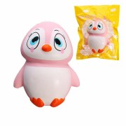 YunXin Squishy Pink Penguin 13cm Slow Rising With Packaging Soft Cute Collection Gift Decor Toy