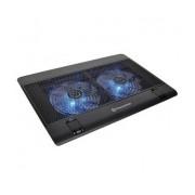 Thermaltake Massive 14² para Laptops 10''-17'', con 2 Ventiladores de 1200RPM, Negro