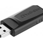 Verbatim Slider USB-minne 32 GB Svart 98697 USB 2.0