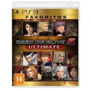 Game Ps3 Dead Or Alive 5 Ultimate Favoritos - Unissex