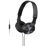 HEADPHONES, SONY MDR-ZX310AP, Microphone, Black (MDRZX310APB.CE7)