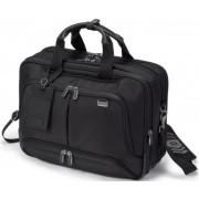 "Geanta Laptop Dicota Top Traveller Twin PRO 15.6"" (Neagra)"