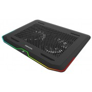 "DeepCool N80RGB Hladnjak za laptop 17.3"" 2x140mm.Fan800rpm 32CFM 23dB 427x316x25mm USB3.0 (postolje"
