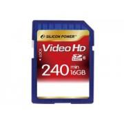 Silicon Power Video HD Class6 16GB memóriakártya