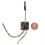 Wolfwhoop Q8 Nano VTX Integrated OSD 5.8GHz 40CH 25/100/200mW Switchable FPV Transmitter with IPEX Antenna for Mini Multicopter