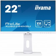 "IIYAMA 22"" iiyama XUB2294HSU-W1: VA, FullHD@75, 250cd/m2, 4ms, VGA, HDMI, DP,"