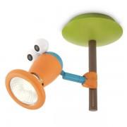 Plafonjera spot Birdey plate/spiral mixed 1x35W 230V 56310/55/16