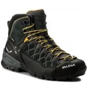 Salewa Trekking-skor SALEWA - Alp Trainer Mid Gtx GORE-TEX 63432-0766 Carbon/Ringlo