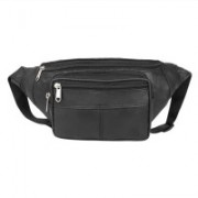 Digchika Travel Waist Pouch Universal Flip Phones Case Wallet Card Waist Bag Pouch Belt Clip Wallet Waist Pouch(Black)