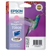 Epson T0806 Original Ink Cartridge C13T08064011 Light Magenta