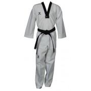 JCalicu taekwondopak Vortex Fighter ventilatie wi/zw maat 200