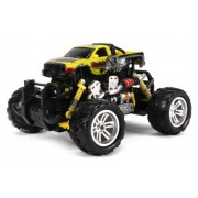 Graffiti Dodge RAM Electric RC Off-Road Monster Truck 1:18 Scale 4 Wheel Drive RTR, Working Hinged S