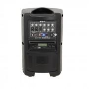 MOV8-CD Sistema Di Amplificazione Portatile 150W CD USB SD Bluetooth VHF