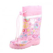 Beck Girls Stivali in gomma PEACE pink - rosa / pink - Gr.30