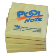 POOL OVER Conf. 12 post-it pool 76 x 76 mm 3642 POOL OVER