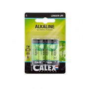Calex batterijen C 2 stuks