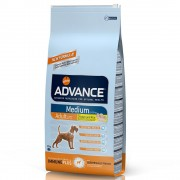 Advance Medium Adult con pollo y arroz - 14 kg