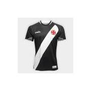 Camisa Vasco I 2018 s/n° Jogador Diadora Masculina - Masculino Preto
