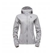 Black Diamond W Alpine Start Hoody - Nickel - Vestes Vent XL
