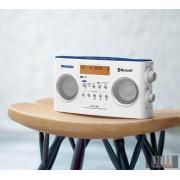 Sangean DPR-26BT W DAB+ / FM-RDS / Bluetooth sztereó táskarádió (fehér)