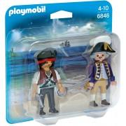 Playmobil Duopack piraat en soldaat - 6846