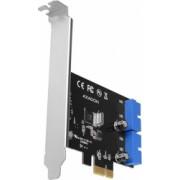 Adaptor AXAGON PCI-Express PCEU-034VL USB3.0 UASP VIA + LP